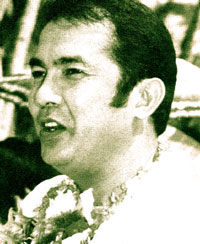 Democracy martyr Evelio Javier