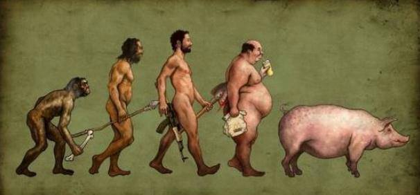 The evolution of a Filipino politician. Unfair to pigs.