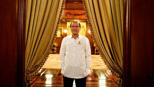 President Aquino in the New York Times interview