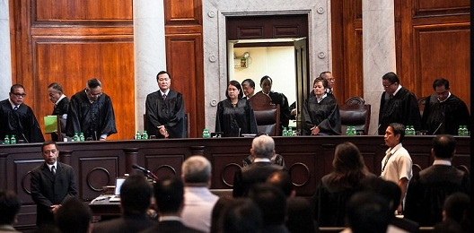 SC justices prepare to hear arguments on 2012 Cybercrime Prevention Law . Photo by Yahoo.ph