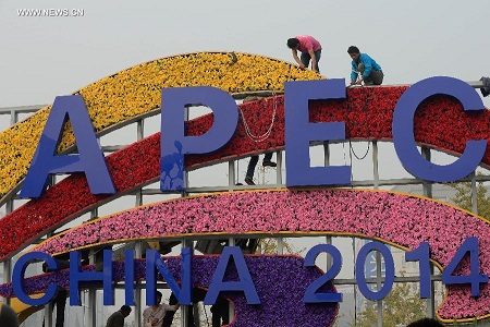 China prepares welcome for 2014 APEC.