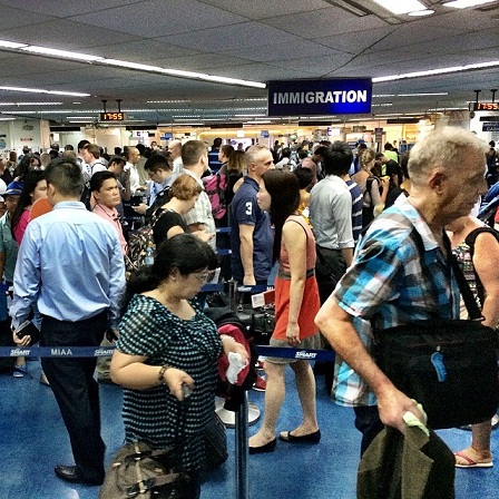 Long lines NAIA1. Thanks to Flickr for photo.