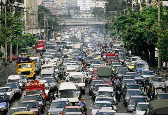 etro Manila traffic. Thanks to Canadian Inquirer.