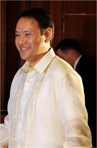 Former Defense Secretary Gilbert Teodoro