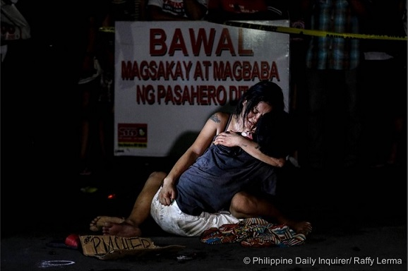 """This is the picture (July 24 Inquirer) that Pres. Duterte dismissed as """"drama.'"""