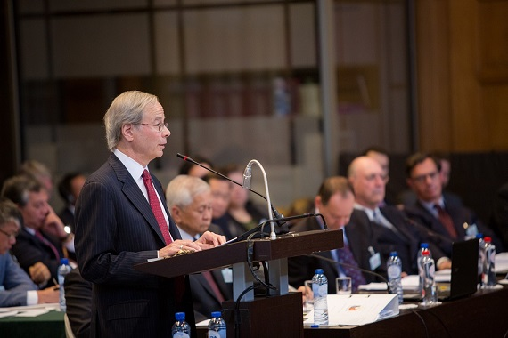 Counsel for the Philippines Paul S. Reichler. Photo from Permanent Court of Arbitration.